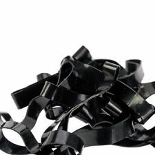New Plaiting Rubber Bands Mane+Tail Braiding Horse Dog Show 500pk BLACK
