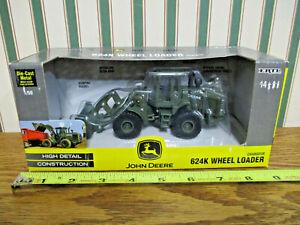 John Deere 624K Wheel Loader Military Version By Ertl 1/50th Scale >