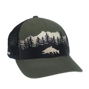 RepYourWater Dark Water  Mesh Back Hat Green/Black ST