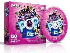 Cdg - Zoom Karaoke Pop Box 2 - 6 Cdgs 120 Songs - FREE P&P