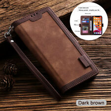 Magnetic Leather Flip Wallet Phone Case Cover for Samsung Galaxy S20 Plus A51