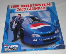 1999 NASCAR Jeff Gordon 2000 MILLENNIUM New Factory Sealed Wall Calendar Racing
