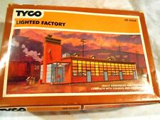 Tyco HO Scale Lighted Factory Original Box w/Additional Shrubs