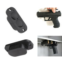 2x 25LB Rating Gun Magnet Concealed Gun Holder Under Desk / Coffee Table and Bed