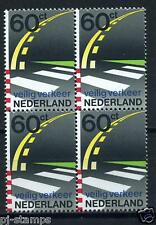 Nederland 50 jaar Veilig Verkeer Nederland 1270 blok van 4