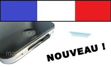 Cache anti-poussière BLEU iphone 4 4G 4s 3G 3Gs ipad 1 2 ipod capuchon bouchon