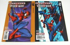 Ultimate Spider-Man #46 & #47 Both Signed by Brian Bendis MARVEL COMICS 2003 USM
