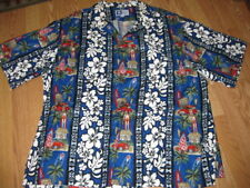 RJC classic car surfboard hawaiian button shirt 4XL XXXXL
