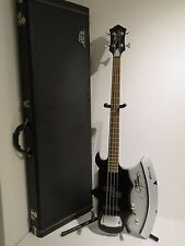 BC Rich Gene Simmons Axe Signed & Numbered Bass Guitar #00117 + Hard Case