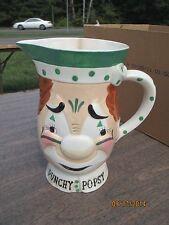 Vintage Yona Original Punchy Popsy Clown Pitcher Mug