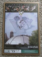 VINTAGE PITTSBURGH PENGUINS POSTER WITH THE CIVIC ARENA SIDNEY CROSBY RARE