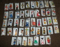 Mondotime Figures x 47 - sealed bags with collector cards