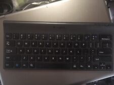 Logitech Bluetooth tablet keyboard & stand 820-004110 w/ case tested - works