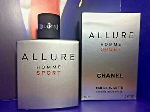 CHANEL Allure Homme Sport 3.4 Oz Men Eau De Toilette