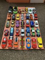 Diecast Toy Car Bundle Job Lot - Hot Wheels, Matchbox, Realtoy, More - X35 Cars!