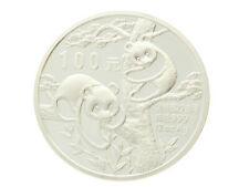 China - Silver RARE 100 Yuan Coin - Panda - 1988 - 12 Oz. - .999 - Proof
