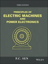 Principles of Electric Machines and Power Electronics by P. C. Sen (2013,...