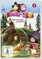 MASCHA UND DER BÄR - 04/MASCHA GEHT ZUM ZIRKUS  DVD NEU