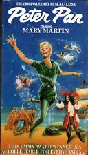 "MARY MARTIN ""PETER PAN"" VHS 1990 good times sealed"