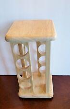 16 Jar M. Kamenstein Wooden SPICE RACK or K CUP Holder Storage Stand