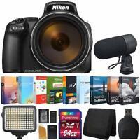 Nikon COOLPIX P1000 Digital Camera + Photo Video Expert Software + Accessory Kit