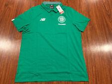 New Balance Men's Celtic FC Home Media Soccer Polo Jersey Shirt XL Extra Large