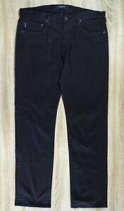 PAUL SMITH men's black jeans button fly 36'' waist