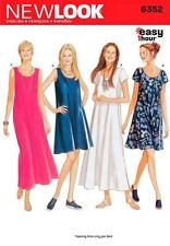 NEW LOOK PATTERN MISSES' 1 HOUR EASY DRESSES DRESS SIZE 6 - 18 6352