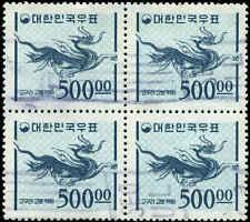 Korea Scott #374A Block of 4 Used