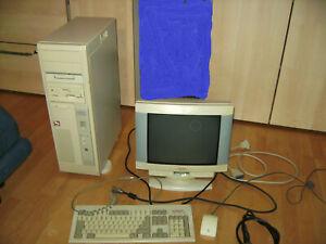 Vintage Computer TOWER VOBIS Pentium 2 08/15 486DX 2-66/VL Retro PC
