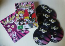SAILOR MOON SEASON 1 dvd set REGION 0 anime RARE first english dub edition 1992