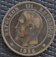 FRANCE 10 CENTIMES NAPOLÉON III 1856 MA  F.133
