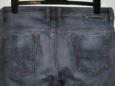 Diesel safado regular slim-straight fit jeans 0885K stretch W32(34) L32 a5333