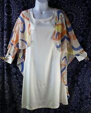 Tsumori Chisato Silk Dress Size S With Cape
