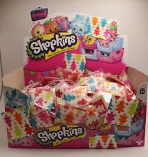 Shopkins Season 4 - 15 x Surprise Bags - New - sealed in Christmas themed bags!