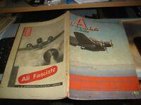 Zeitschrift für aeronautica der Flügel Italiens Jahr XXIV ° n. 2 - 31/1/1943