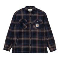 Carhartt WIP Aiden Shirt Jac Camicia Uomo I028216.03 1C.90 Aiden Check Dark Navy
