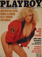 Playboy August 1990 | Erika Eleniak Melissa Evridge Girls of Canada   #1736+