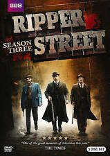Ripper Street: Season Three (DVD, 2015, 3-Disc Set) LIKE NEW