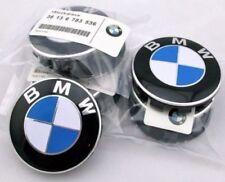 X4 Genuine BMW² Emblem Logo Badge Hub Wheel Rim Center Cap 68mm Set of 4
