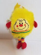 Vintage Rainbow Brite Doll Yellow Spark Mini Sprite Hallmark 1983 Mattel Plush