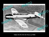 OLD HISTORIC AVIATION PHOTO, VULTEE YA-19 AIRCRAFT, USA AIR FORCE c1940