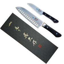Japan MAC MS-46 Pro Series 2 PCS Japanese Santoku Knife Set (MSK-65 & SK-40) NIB