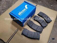 SUBARU IMPREZA 6 POT PRO R ALCON PAGID FRONT BRAKE PADS WRX STI JDM GDB 01-07