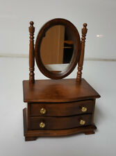 Music Box Dresser with Vanity Mirror Wood plays I will always love you