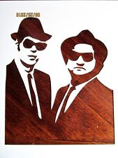 Blues Brothers Stencil/Template Reusable 10 mil Mylar