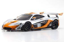 Kyosho Mini-Z MR-03 RWD McLaren P1 GTR RTR Sliver/Orange KYO32324SO-B