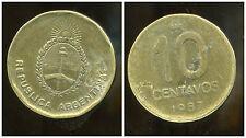ARGENTINE 10 centavos 1987