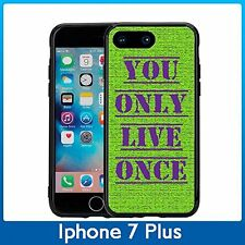 YOLO You Only Live Once For Iphone 7 Plus & Iphone 8 Plus (5.5) Case CoverGreen
