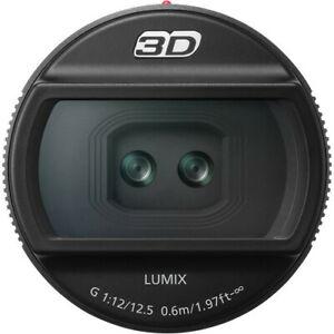 Panasonic H-FT012 Lumixg 12.5mm F12 3D Objetivo Para Micro Cuatro Tercios